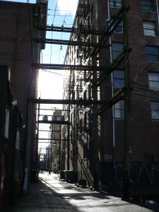 Alleyway in Vancouver, Canada