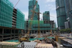 Building work in Malaysia
